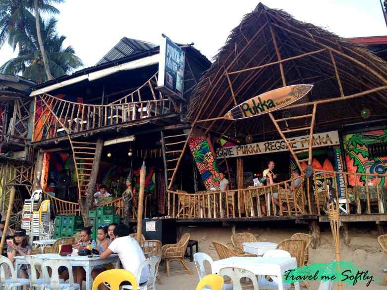 Bar Pukka en la playa de El Nido
