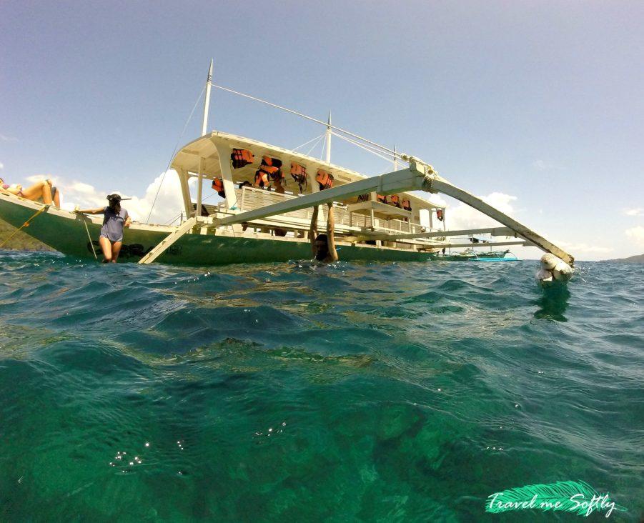Island hopping El Nido bangka