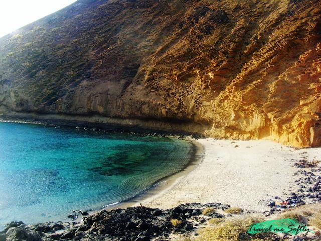Playa de la cocina isla de La Graciosa