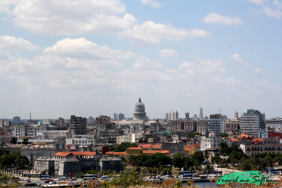 Capitolio desde la casa del Che Guevara