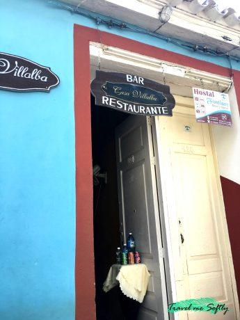 Restaurantes en Trinidad Casa Villalba