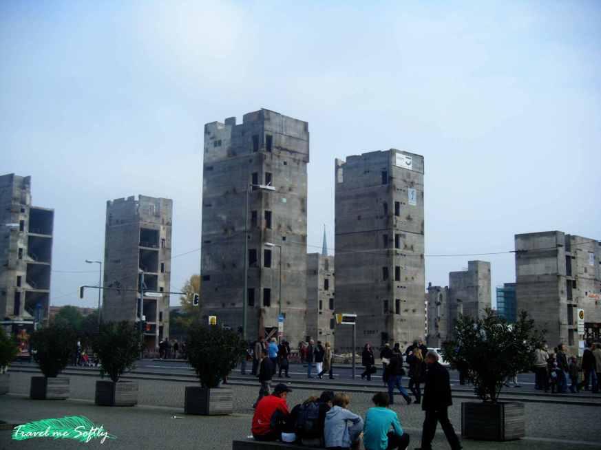 restos del palacio de la república de berlín