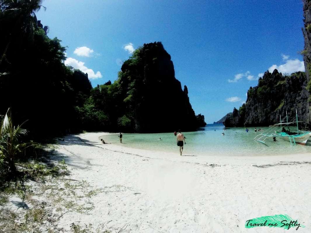 cuánto cuesta viajar a Filipinas Hidden beach