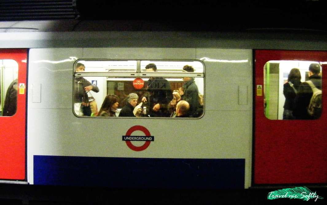 viajar a Londres metro