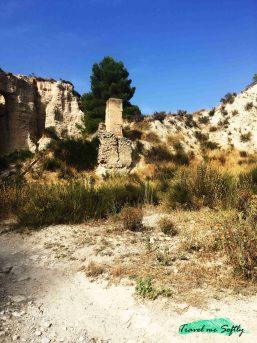 ruinas molino rambla de puça