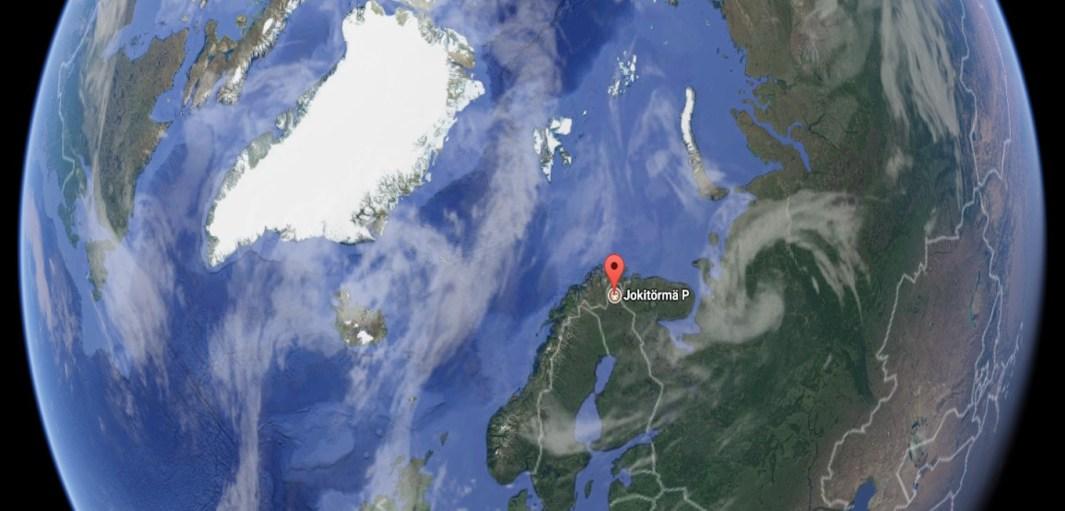 Círculo polar ártico Jokitörmä