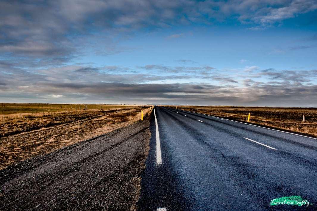 carreteras de islandia en invierno