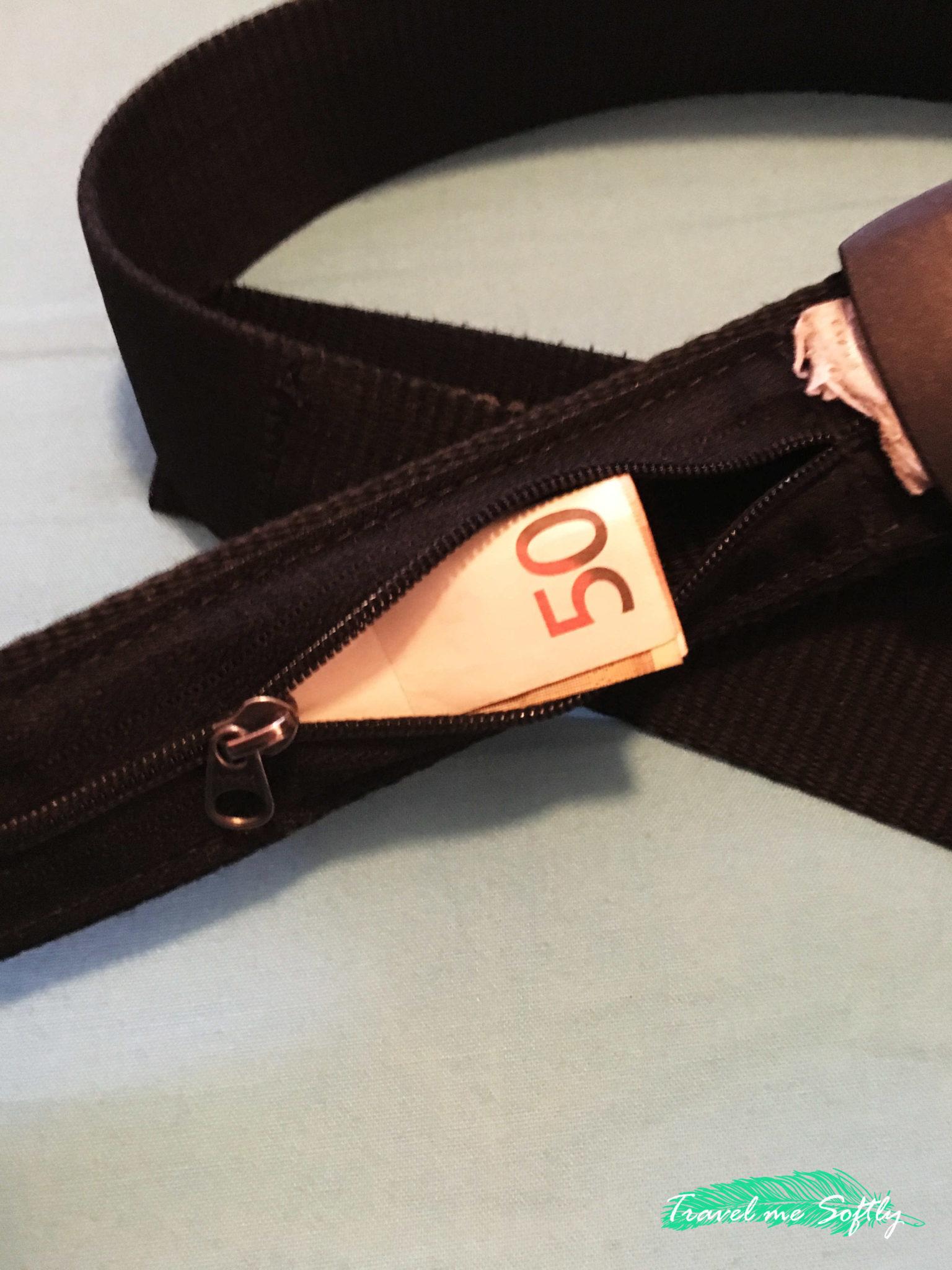 consejos de seguridad para viajar cinturon bolsillo secreto