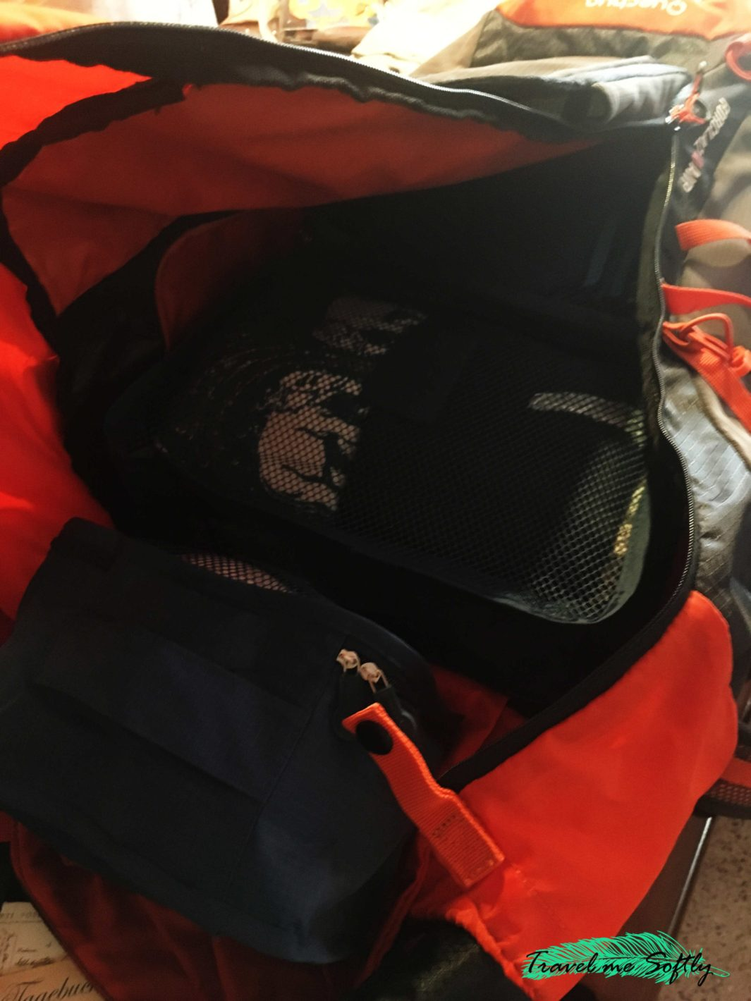 regalos para viajeros compartimentos mochila de viaje