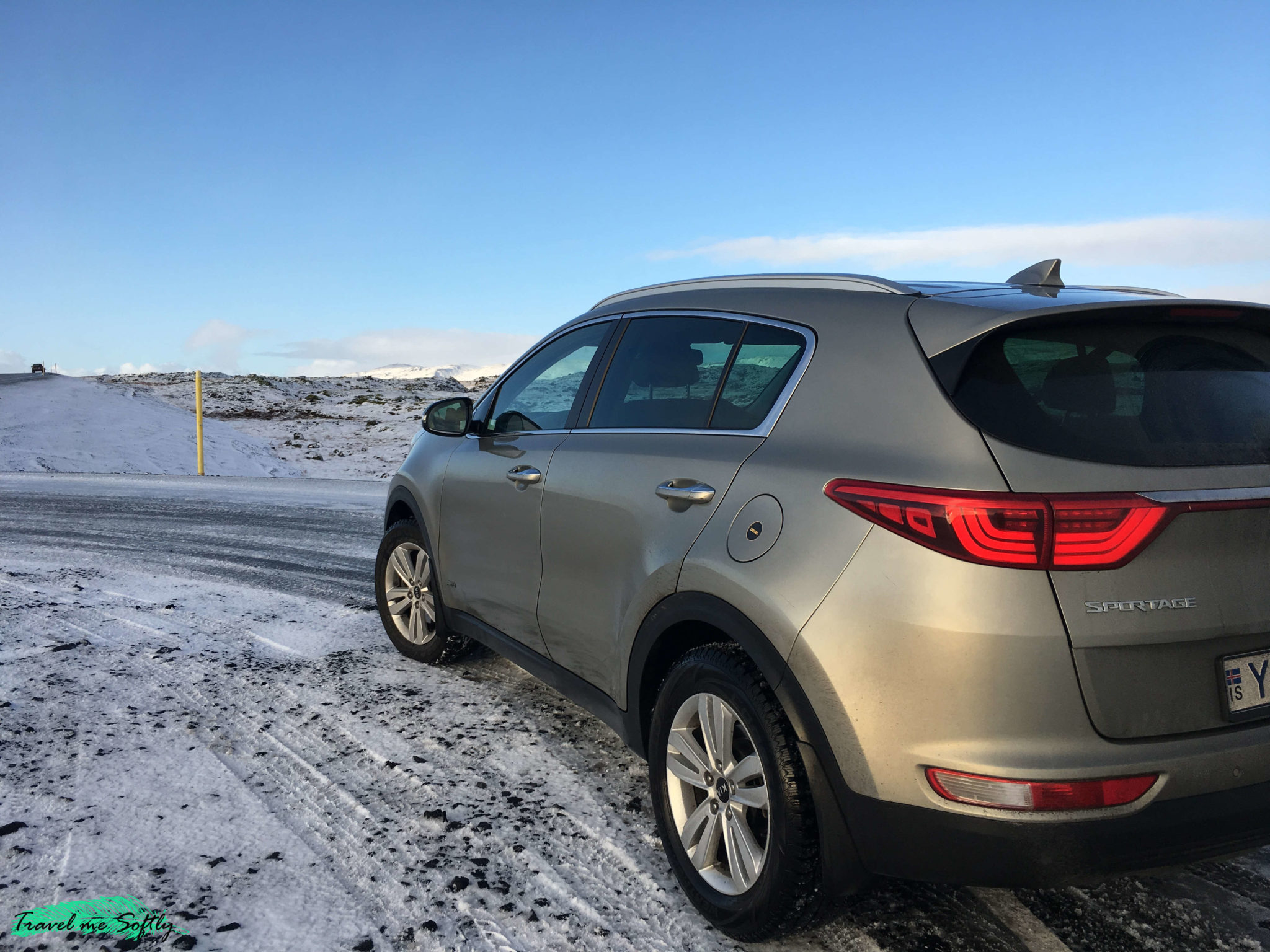 conducir en islandia en invierno con nieve