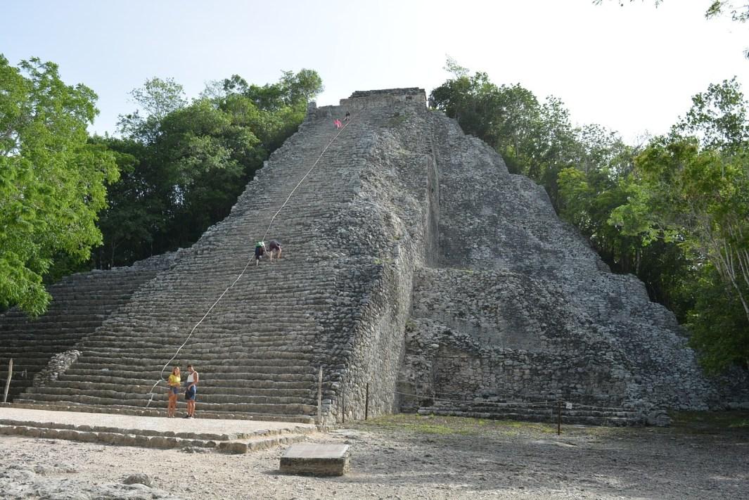 ruinas de coba viajar a la riviera maya