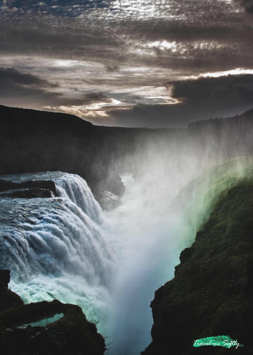 Cascadas de Islandia Gullfoss 2