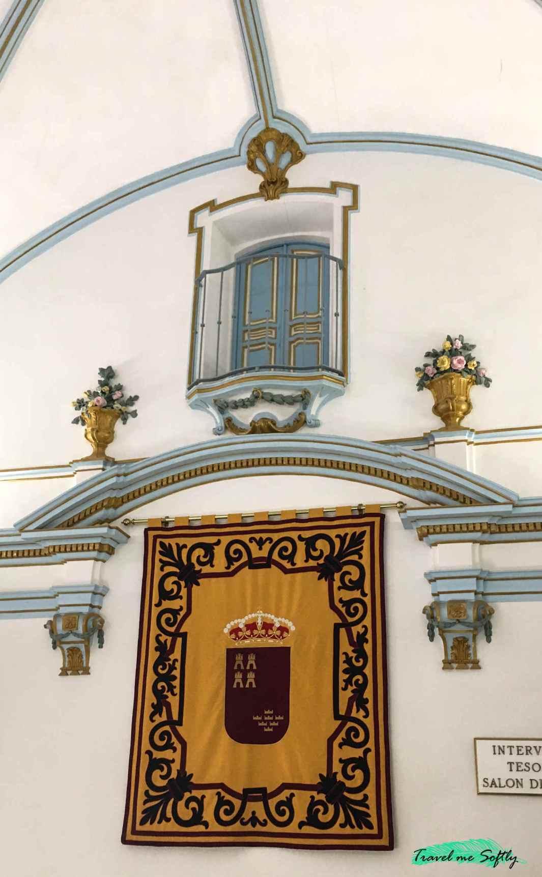 escalera imperial casa jaspe de cehegín