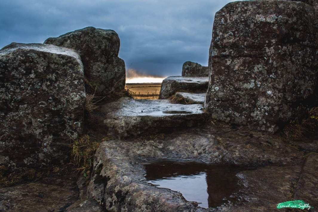 columnas basalticas dverghamrar foss a sidu fotos islandia
