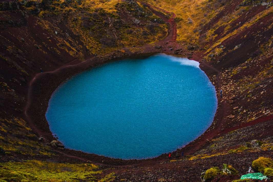 lago Kerið  imágenes de islandia