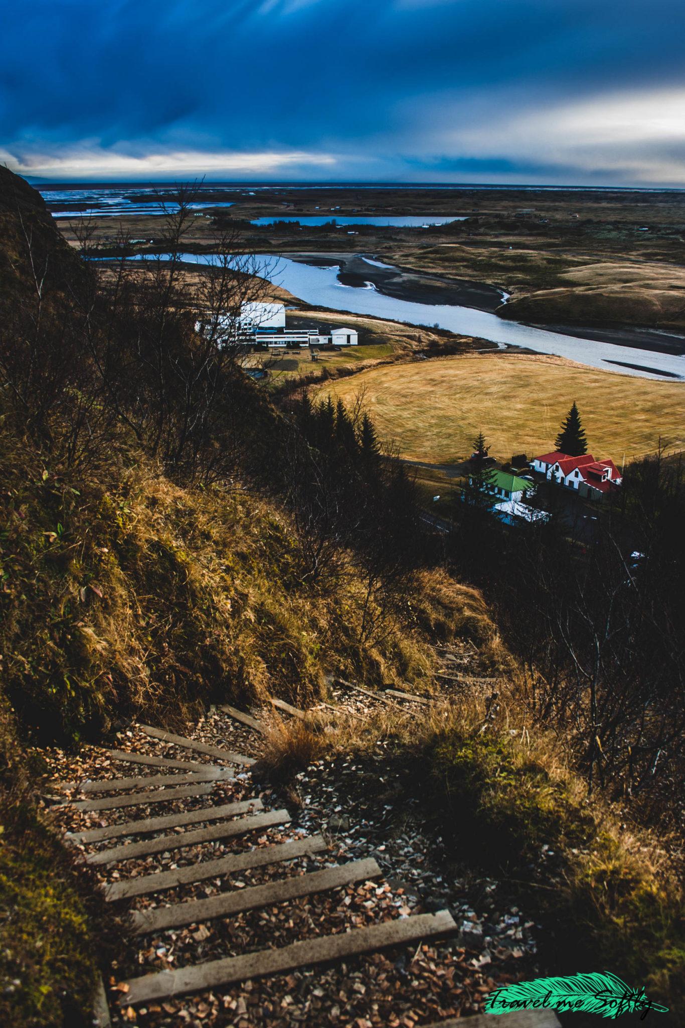 imágenes de islandia klaustur escalinata