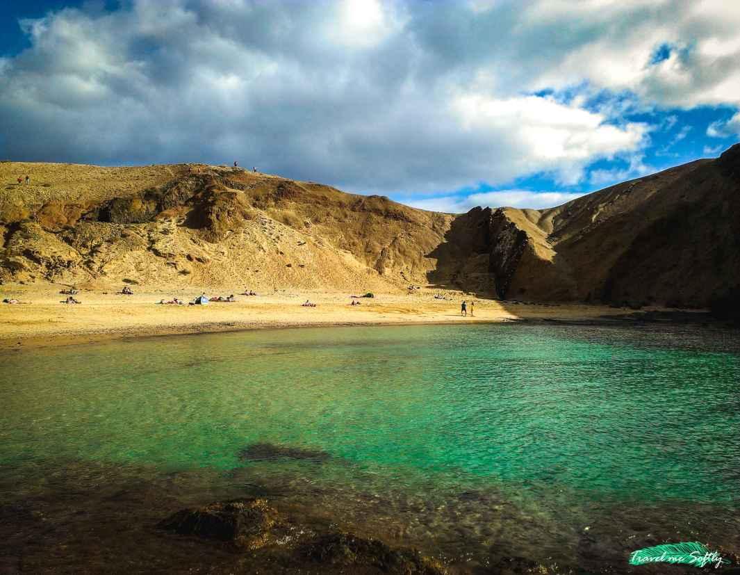 playa de Papagayo turismo en Lanzarote