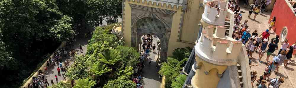 Visitar Sintra en agosto: la peor experiencia turística que he tenido nunca
