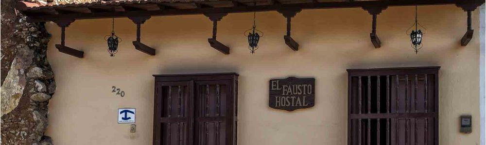 Casa particular en Trinidad muy recomendable: Hostal El Fausto