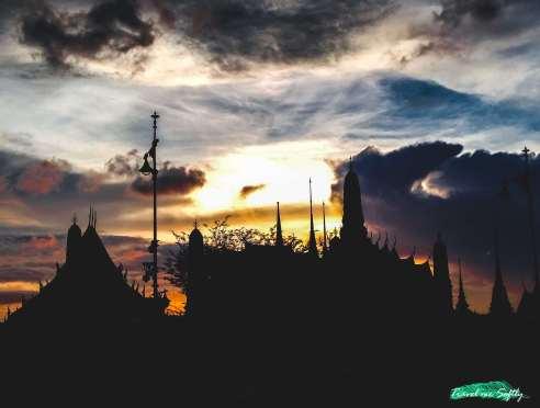 tiempo en Tailandia grand palace