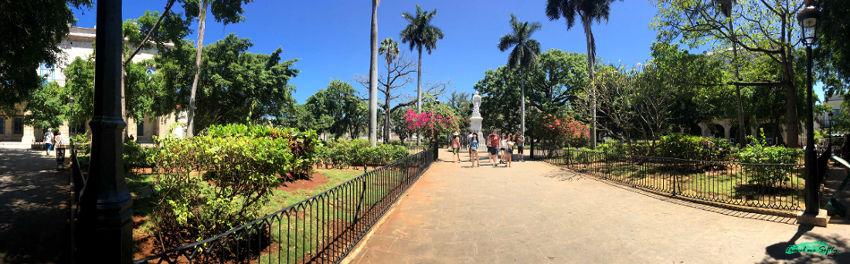 Plaza de Armas la habana vieja panorámica