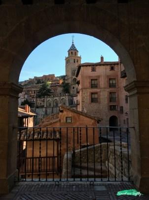 catedral de albarracin arco