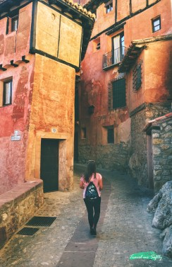 pasear por albarracín