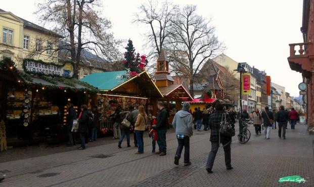 Mercado de navidad Heidelberg