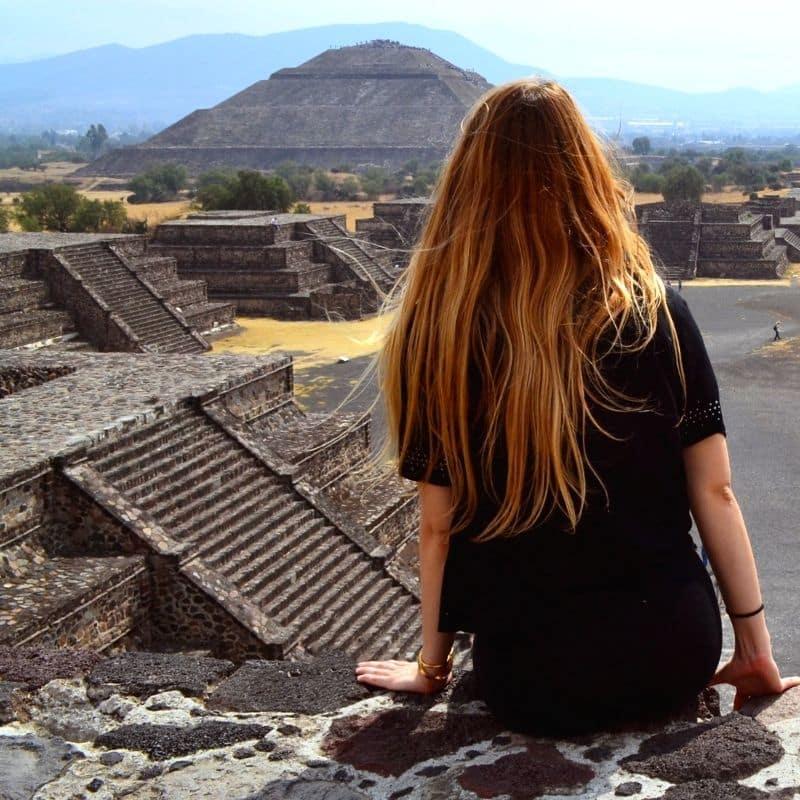 Teotihuacan pyramid
