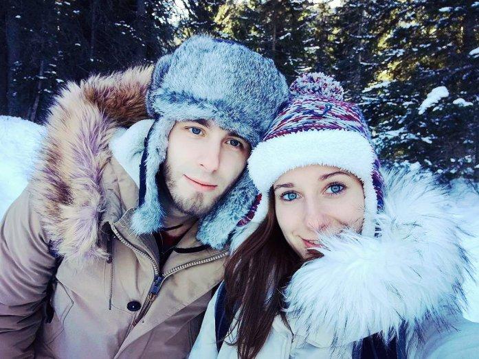 Veri e Dani Lago Braies inverno