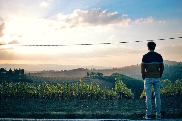 Toscana-panorama-vigneti-tramonto-weekend