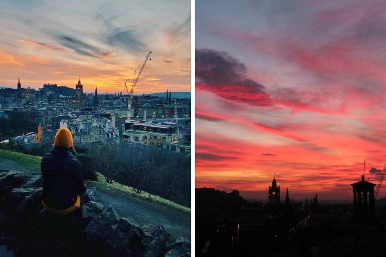 Scozia-Edimburgo-Calton-Hill