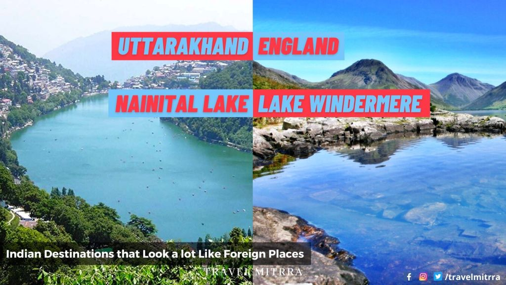 Indian destinations that look like foreign places | travel india | Uttarakhand tourism | Nainital Lake | indian traveller | beautiful places of india | travel mitrra | travel blogs | travel mitrra blogs