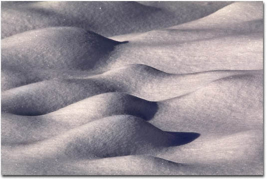 Snow Forms by Jim Brandenburg (permission from Brandenburg Gallery)