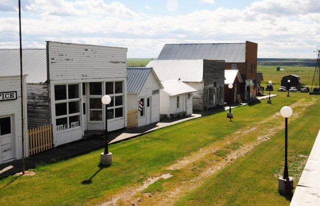 Daniel's County Museum and Pioneer Town