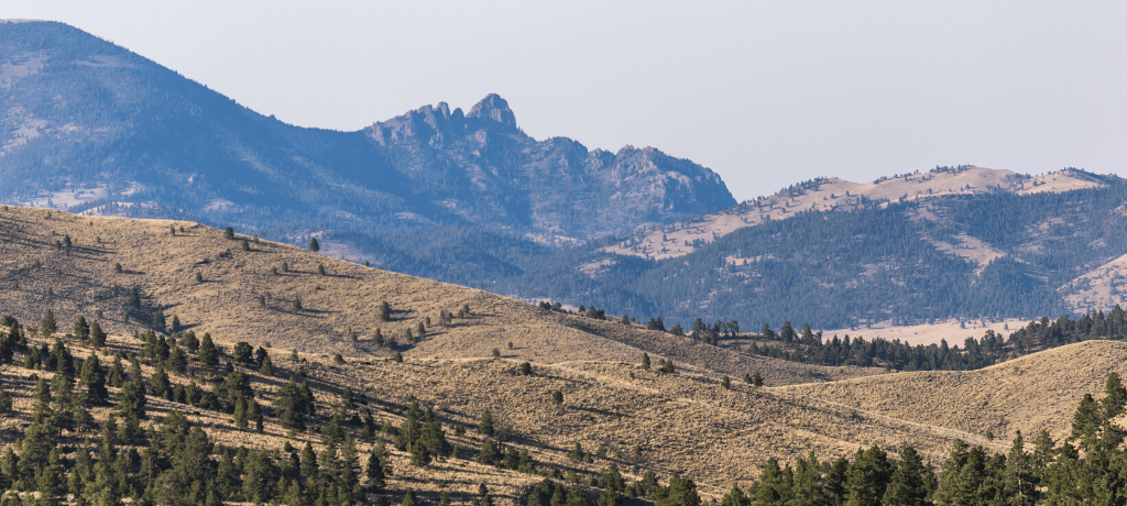 Rocky Mountains Near Helena, Montana