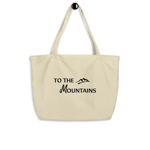 To the Mountains tote bag