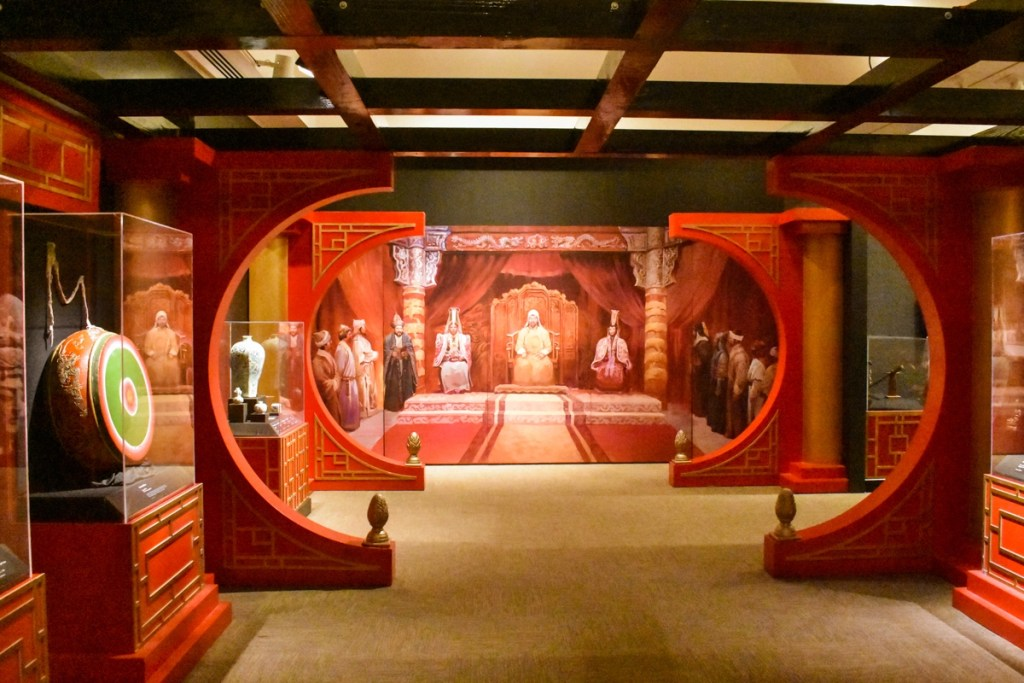 Ghengis Khan Temporary Exhibit at the Museum of the Rockies in Montana