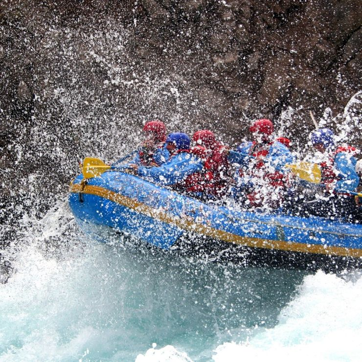 If you're looking for adventure and water thrills, go river rafting while in Montana