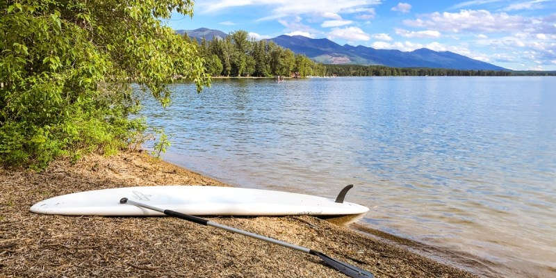 Swan Lake is a hidden gem in Glacier Country, Montana
