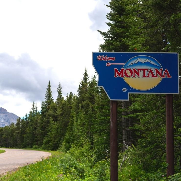 Scenic drives are located all around Montana