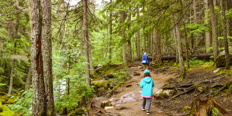 Glacier National Park is a great destination for kids, with family-friendly hikes, lakes, and accommodations.