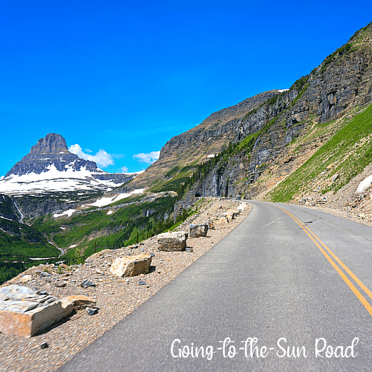 Driving along Going-to-the-Sun road is one of the top things to do in Glacier National Park.