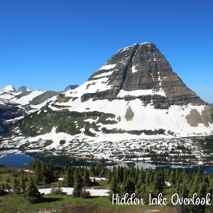 Hidden Lake Overlook is a popular family hike near Logan Pass in Glacier National Park.
