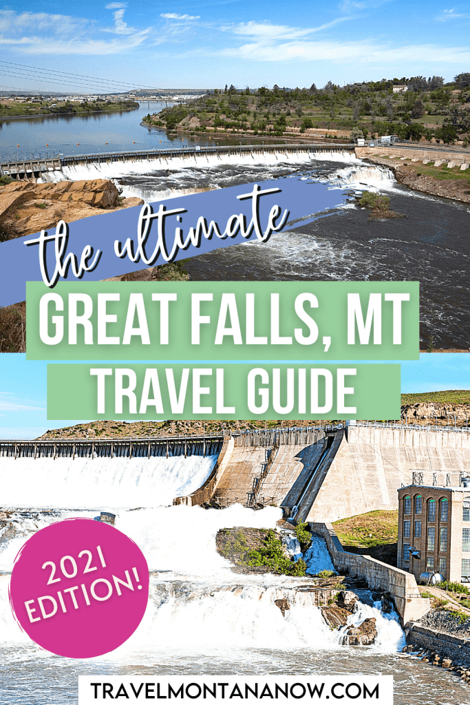This detailed Great Falls, Montana travel guide will help you find out all the best things to do in Great Falls so you can expertly plan your trip. From outdoor activities and historic sites to the arts and family-friendly activities, this guide covers it all and will help you put together the perfect Great Falls itinerary.   Great Falls MT   Great Falls Travel   Montana Trip   Montana Vacation   Montana Bucket List   Where to Stay in Great Falls   Montana Waterfalls   Where to Visit in Montana