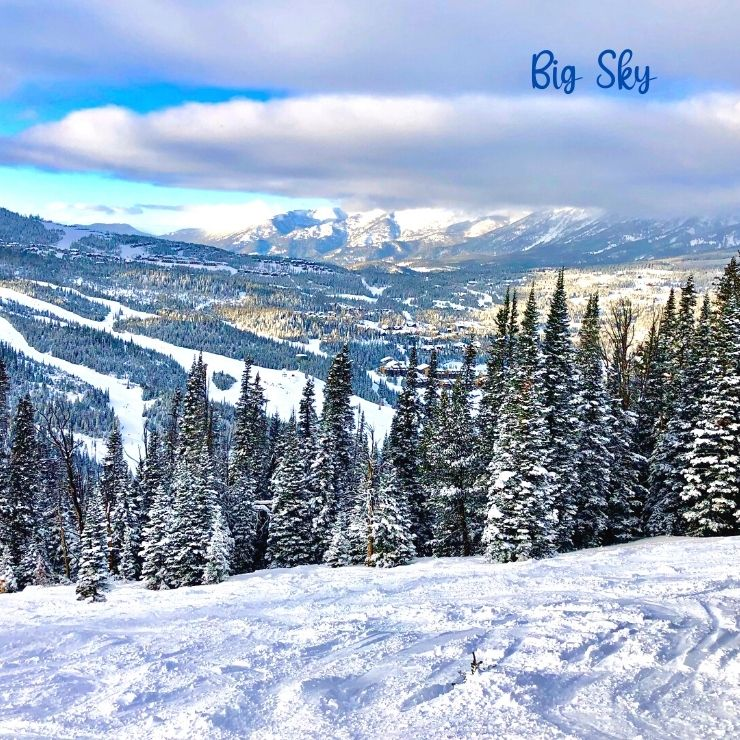 Big Sky Resort is one of the best winter getaways you can take in Montana.