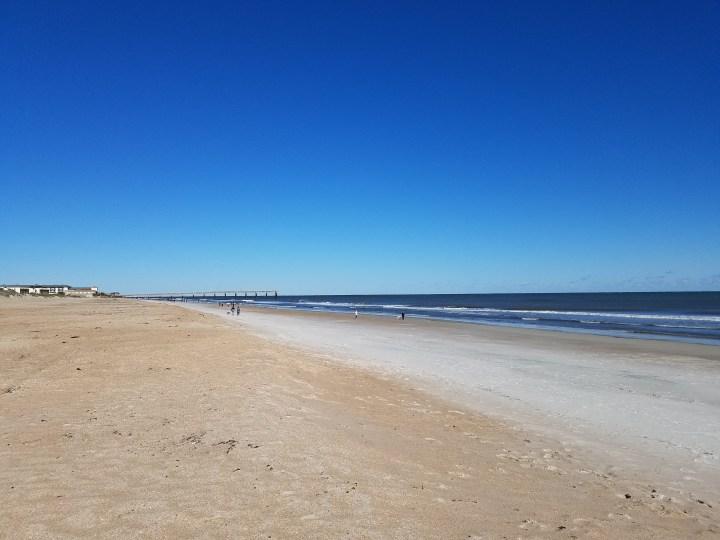 St Augustine Beach area