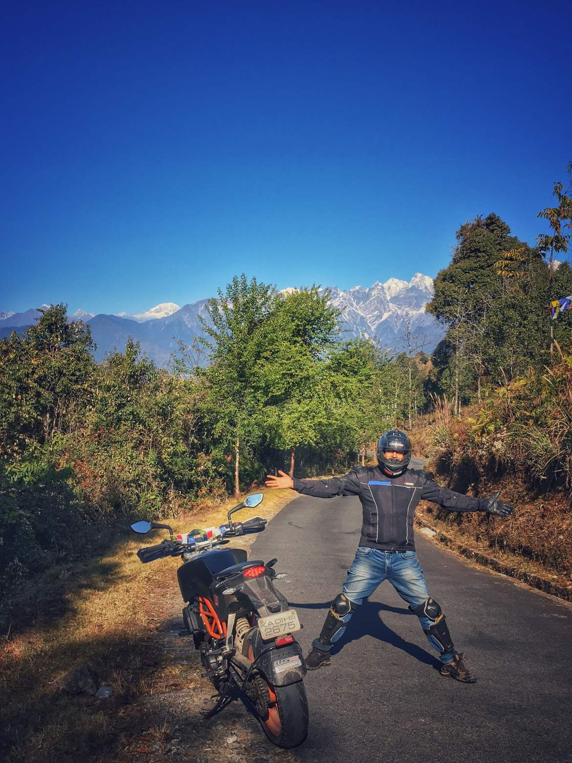 Ride to Sikkim