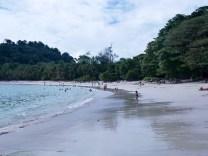 the beautiful Playa Manuel Antonio