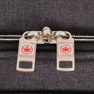 AIR CANADA 28 SOFTSIDE UPRIGHT SUITCASE CHARCOAL C0629 Detail